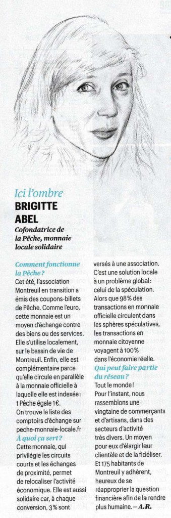 Article Telerama Sortir du 5/11/2014
